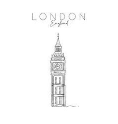 Poster uk big ben vector
