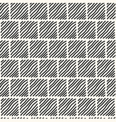 seamless modern monochrome pattern vector image
