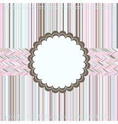 Vintage Card or package design EPS 8 vector image