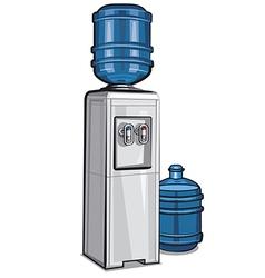water cooler vector image vector image