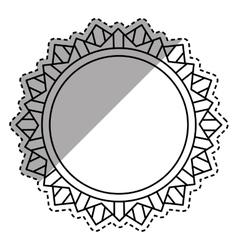 Isolated ribbon award vector