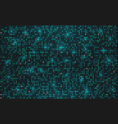 abstract binary code background digital data vector image