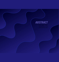 abstract design creativity background blue vector image