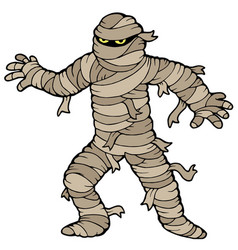 Ancient mummy vector