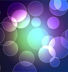 bokeh design vector image
