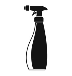 Cleaner spray icon simple style vector