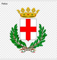 Emblem of padua vector