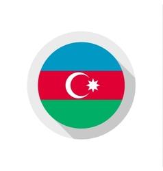 Flag azerbaijan vector