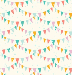 Garlands pattern vector