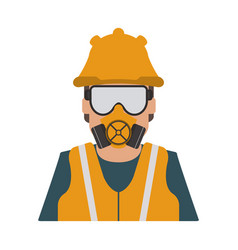industrial safety icon image vector image