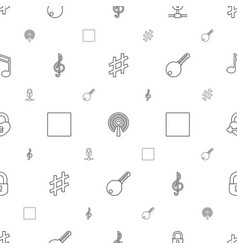 key icons pattern seamless white background vector image