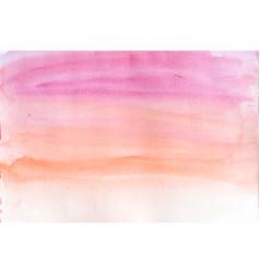 pink and orange gradient blur watercolor vector image