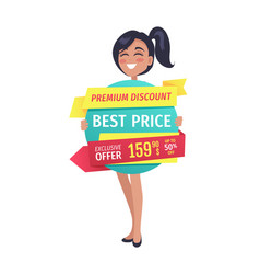 Premium discount best price vector
