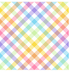 rainbow lgbt - seamless watercolor pattern vector image