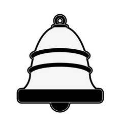 single bell icon image vector image