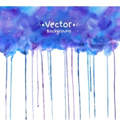 Watercolor texture with smudges vector image vector image