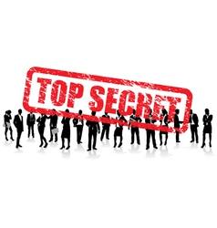 business people secret vector image vector image