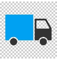 Delivery Van Eps Icon vector image vector image