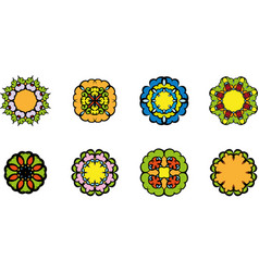 flowers symbol vector image