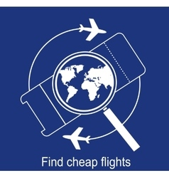 Search the airline tickets vector