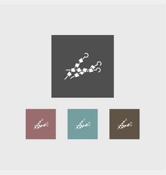 barbecue icon simple vector image
