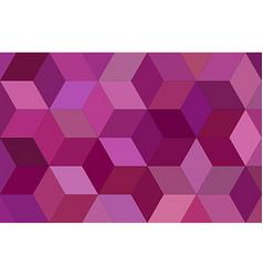 3d cube mosaic background design vector