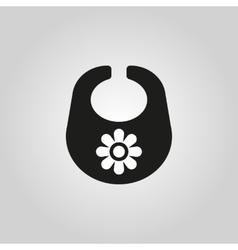 Bib icon design Breastplate and apron symbol vector