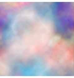 Colorful smoke vector