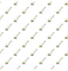 Crane pattern cartoon style vector image