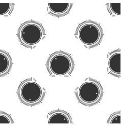 dial knob level technology setting icon vector image