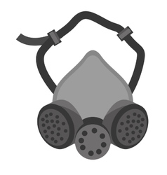 Mask and respirator protective equipment vector