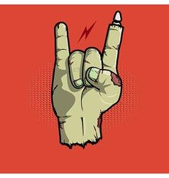 Rock isnt Dead vector image
