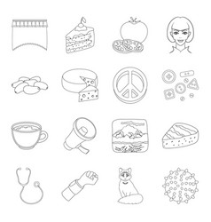 Spines medicine sports and other web icon in vector