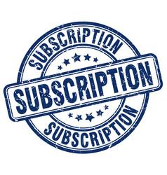 Subscription vector