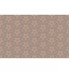 Vintage abstract geometric star pattern vector