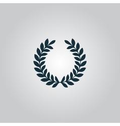 wreath icon vector image