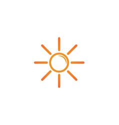 - sun burst star icon vector image