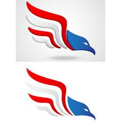 American eagle icon vector