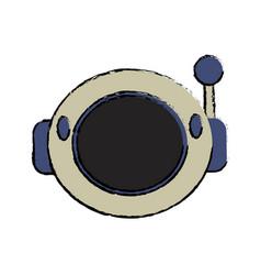 Helmet astronaut equipment image vector