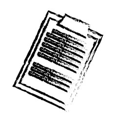 sketch clipboard medical report paper vector image vector image