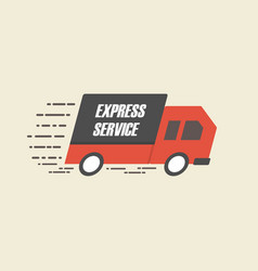 462speed delivery vector image
