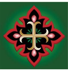 Christian Anchor Holy cross vector image