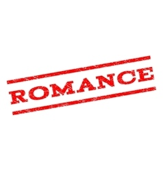 Romance watermark stamp vector