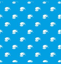 Circular sheet sander pattern seamless blue vector