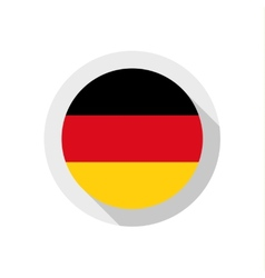 Flag of Germany vector image