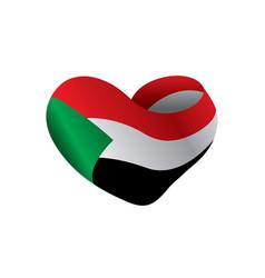 Sudan flag vector
