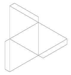 Tetrahedron vector