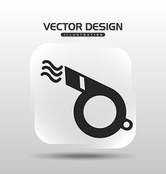 Whitsle icon design vector