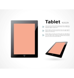tablet vector image