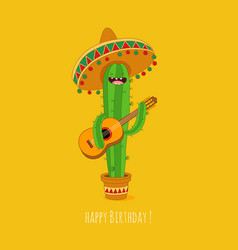 Cactus symbols vector
